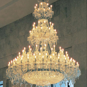 large crystal chandelier luxury decorative for living room