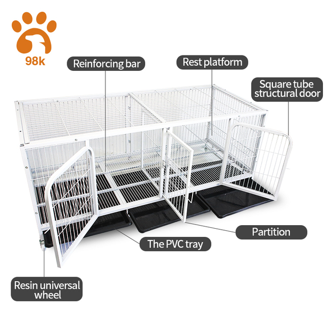 OEM Factory multifunctional breeding cage for dogs and cats lab high quality cat