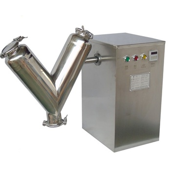 VH series small scale 2l v shape powder mixer machine