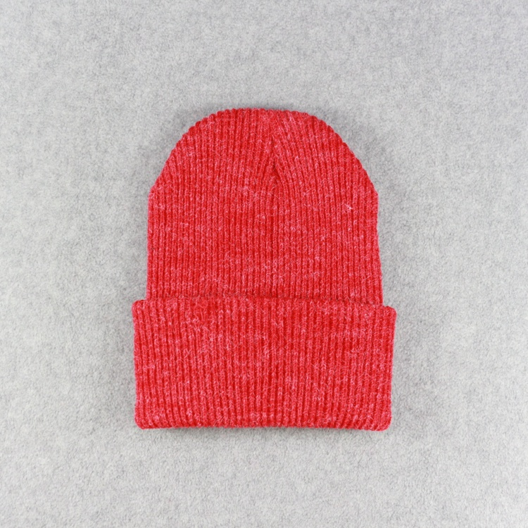 HZM-16885002 Winter Plain Dyed Adult Knitted Warm Beanie Hat