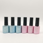 Eco Polish Empty Gel Polish Bottle Eco Friendly Empty Uv Gel Glass Nail Polish Cute Bottle Ice Cream Nail Polish Bottle