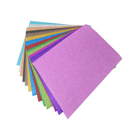 100mic colorful self adhesive glitter film with 165gsm semi-glossy white liner