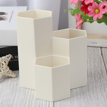 3 цвета домашний офис ручка держатель для карандашей и ручек хранение косметики макияж коробка для хранения стол ящик Органайзер(Китай)
