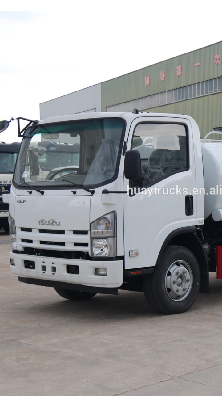 Marca de Japón camino limpieza camión 8000 litros para venta