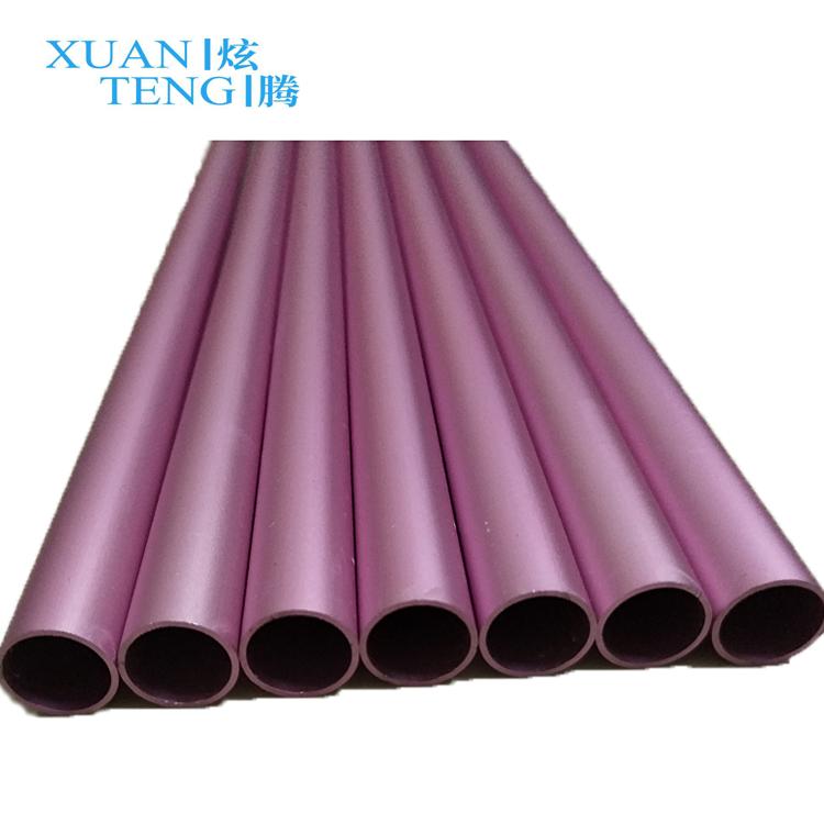 Large dimensions aluminium tube wood grain finish aluminum rectangular tubes aluminum tubes wood grain finish