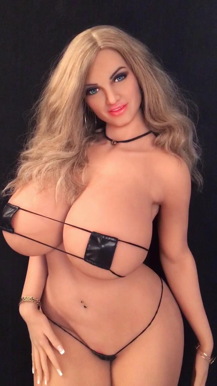 2020 Baru Gemuk Pantat Besar Payudara Besar AF Boneka Seks dengan 165Cm Penuh Panas Tubuh