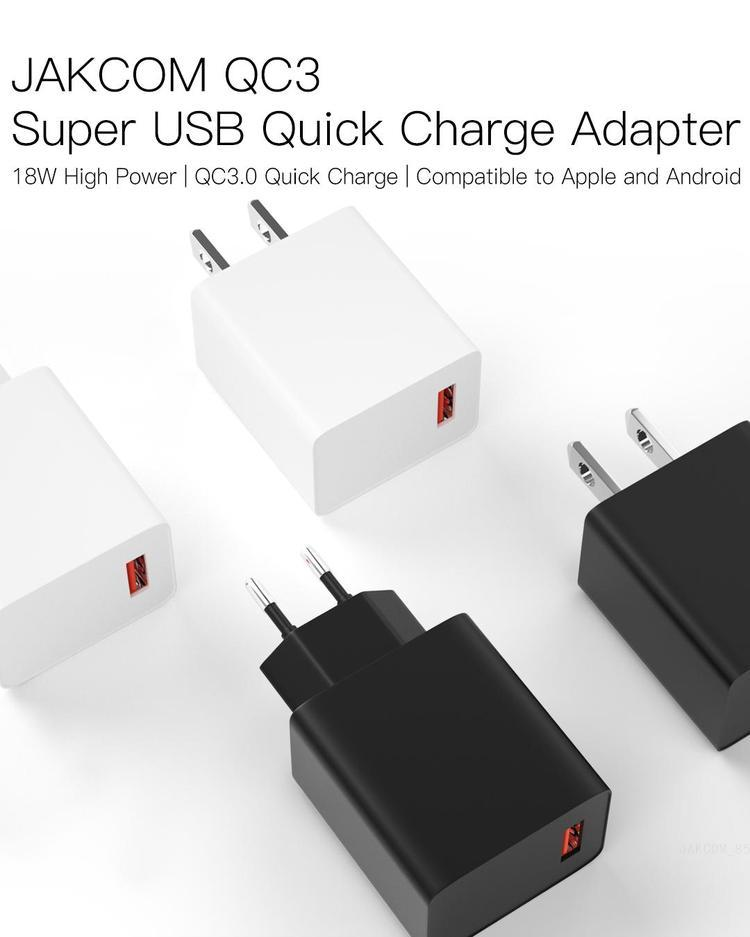 JAKCOM QC3 Super USB Quick Charge Adapter New Product of Chargers 2020 as travis benjamin bamboo charger geremy davis beseus