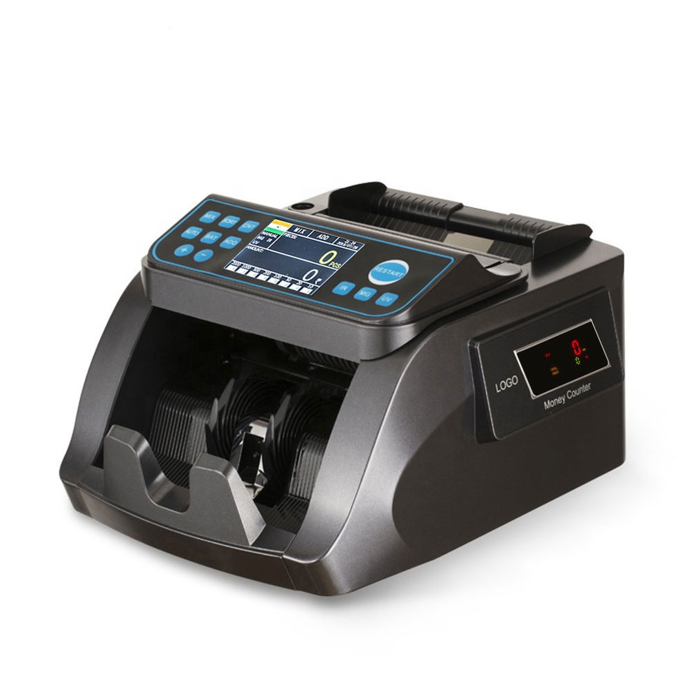 Y5518 Mixed Value Counter Foreign Currency Banknote Sorter Cash Counting Machine Money