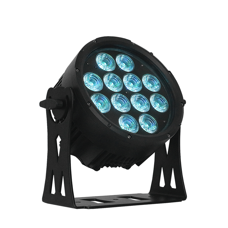 High Quality LED Flat Par Light 12*10W 4IN1 rgbw led par can with ip65 for live concert stage lighting