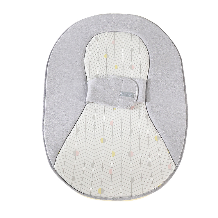 Organic Cotton Cozy Travel Portable Mobile Carry Newborn Baby Snuggle Nest Sleeper Bed Crib Cot