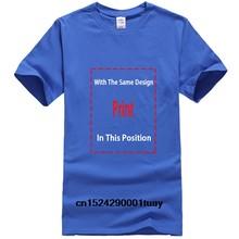 Мужская футболка с принтом, хлопковая футболка, женская футболка с круглым вырезом и коротким рукавом(Китай)