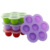 Amazon Hot 7 Potten Babyvoeding Opslag Container Custom Merk Zuigeling Sap Ijs Diepvriezer Trays