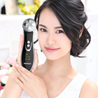 Home salon facial beauty face lift machine skin whitening and tightening vibrating ultrasonic facial massager
