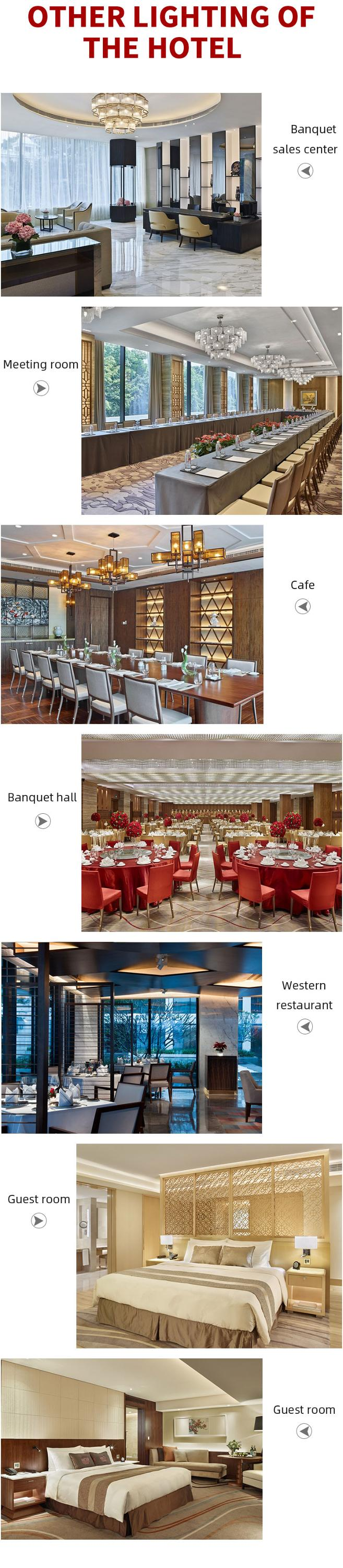 WHITE SWAN GUANGZHOU hotel projects prices chandelier luxury baccarat crystal chandelier banquet hall style chandelier lighting
