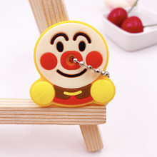 Милый мультяшный брелок силиконовый защитный чехол для ключей с защитой от пыли подарок для женщин аксессуары для дома 2020(Китай)