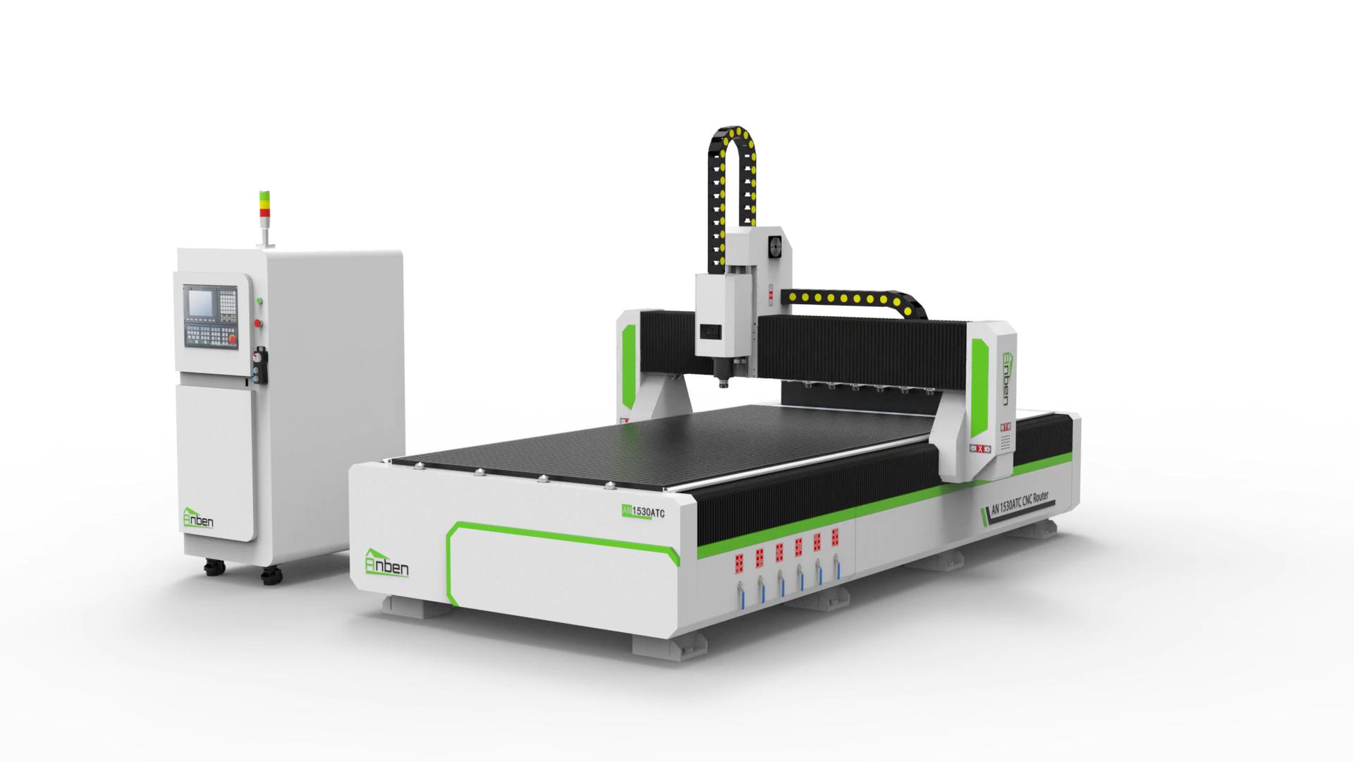 8 herramientas de carpintero 1530 ATC carpintería CNC Router maquinaria para la venta