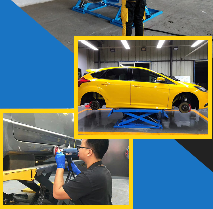 Portable Car Lift Hydraulic Car Lift Price scissor car lift