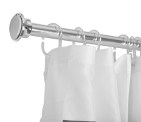 Bathroom shower curtain rods shower curtain rod rust resistance tension shower doorway curtain rod