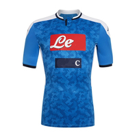Top 2019 2020 thai quality shirts football jersey custom men soccer sports wear napoli soccer shirts