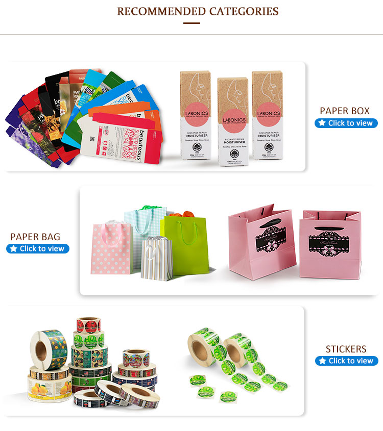 Promotional hot sale custom lipgloss packaging box cosmetic
