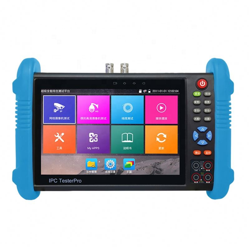 7 inch Built in WIFI HDMI input 1080p TDR cable test 5Mp cctv camera tester