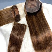 Free sample afro virgin hair clip ins human hair extension, clip in hair extension, straight hair clip in extension fringe