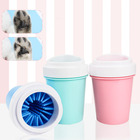 Logo Customization Dog Pet Wholesale Dog Paw Cleaner Self Cleaning Washer Bottle Pet Dog Foot Feet Brush Cup