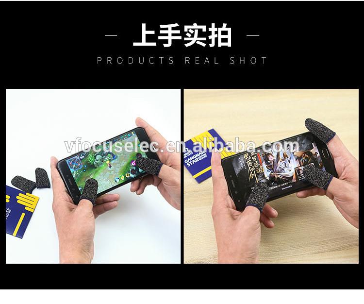 Sarung Tangan Ujung Jari Tahan Keringat, Harga Pabrik Sarung Jari Ujung Jempol Game Ponsel Tablet PC Layar Sentuh
