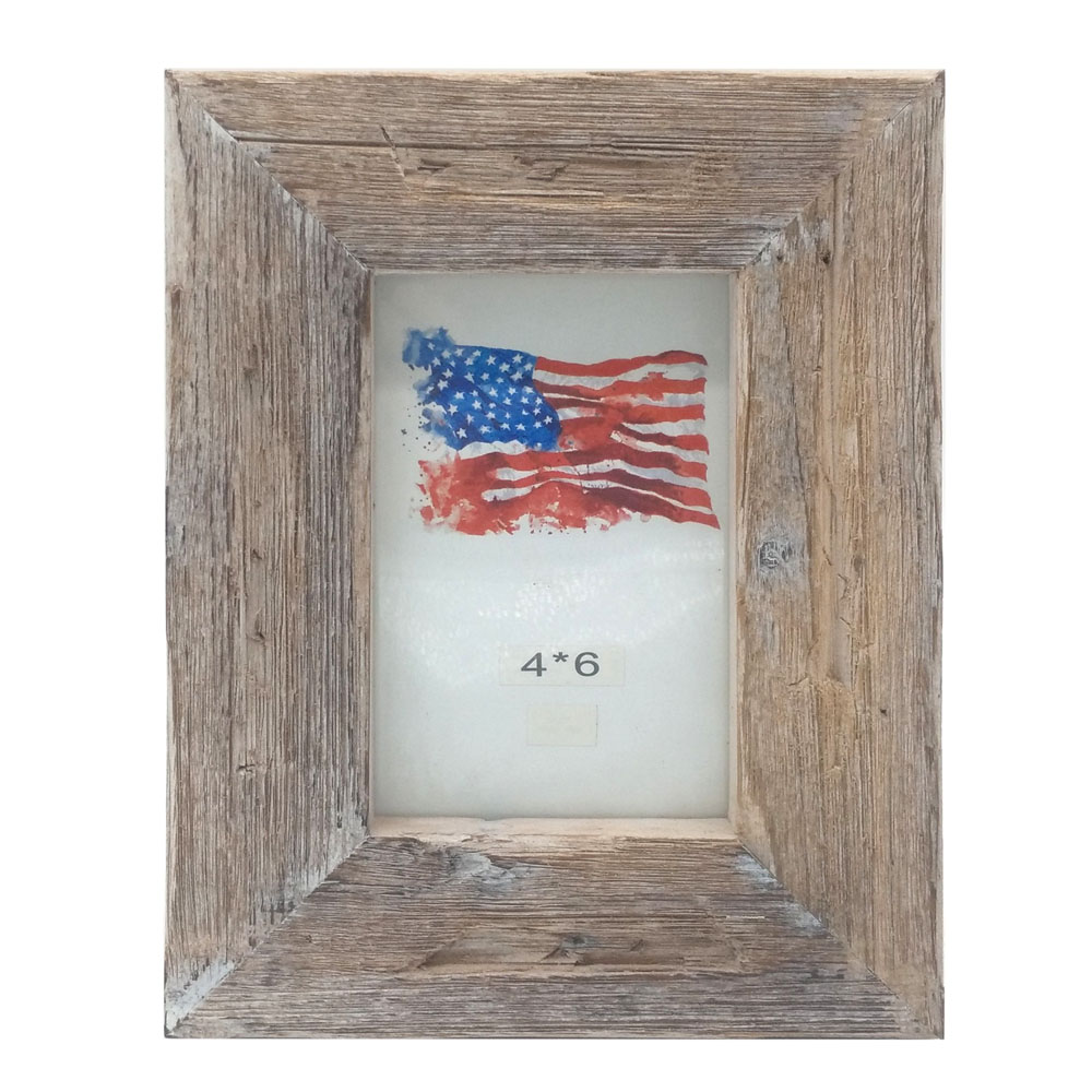 4x6&quot; grey washing <strong>vintage</strong> wood photo <strong>frame</strong>