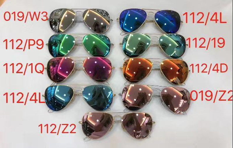 Brand New Ray band Sunglasses Top Bar RB3025 fashion sunglasses for women