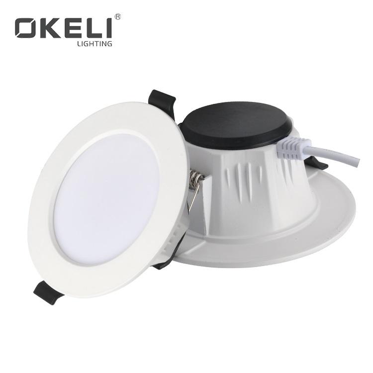 OKELI High efficiency commercial hotel recessed 5w 7w 9w 12w 15w smd led down light