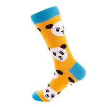 Женские носки с животными, осенние носки без пятки, повседневные хлопковые носки, носки для скейтбординга, женские хлопковые оригинальные н...(Китай)