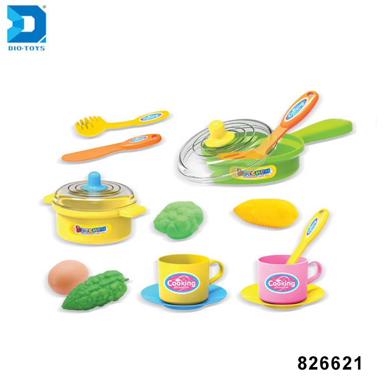 new item kitchen food play set cooking accessories toys