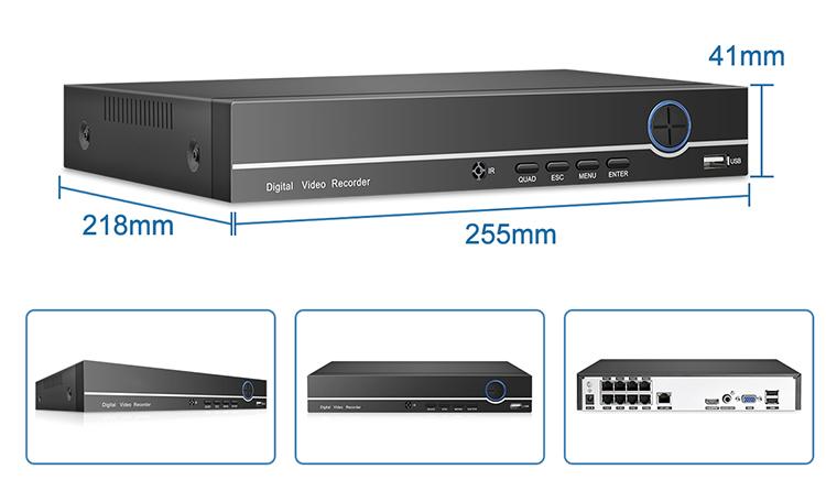 H.265 8CH 5MP POE NVR kiti 2 yönlü ses IP hareket algılama kamerası CCTV güvenlik Video gözetim kiti