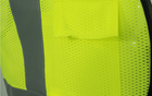 Wholesale 100% polyester mesh hi vis safety reflective construction vest ANSI Class 2 security protect work clothing