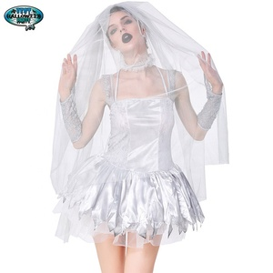 Adult Role Play Ghost Bride Horrific Vampire Adults Halloween Women Masquerade Ball Festival Costume