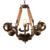 china market of electronic art chandelier vintage pipe industrial light