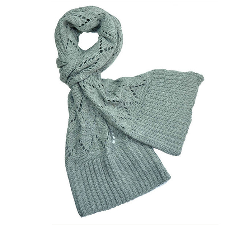 Fashion accessories winter long plain color vintage scarf cotton scarf for women