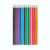 high quality colored lead custom pencil with logo 12 pcs coloring pencil set packing in color box