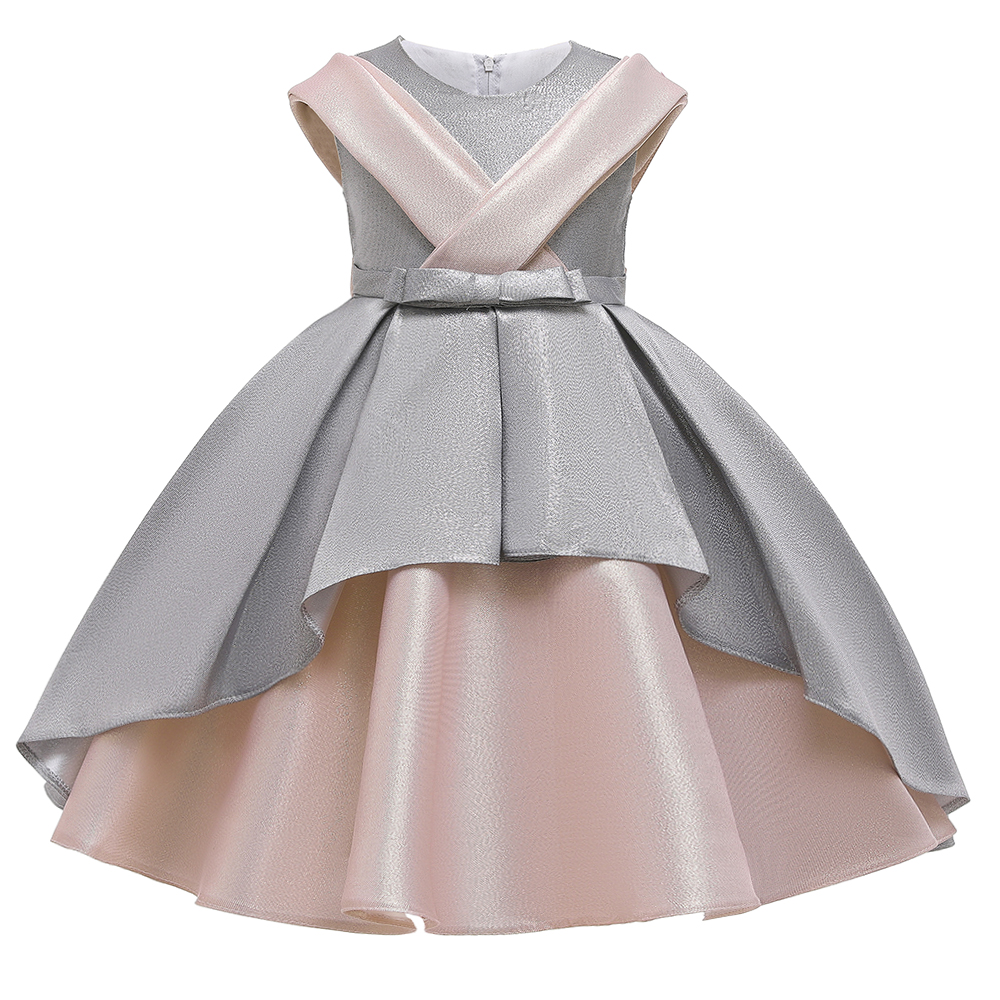 New Design <strong>Kids</strong> <strong>Fashionable</strong> Clothing Baby Girl Dresses Two Wear Way Evening Dress Party Frock
