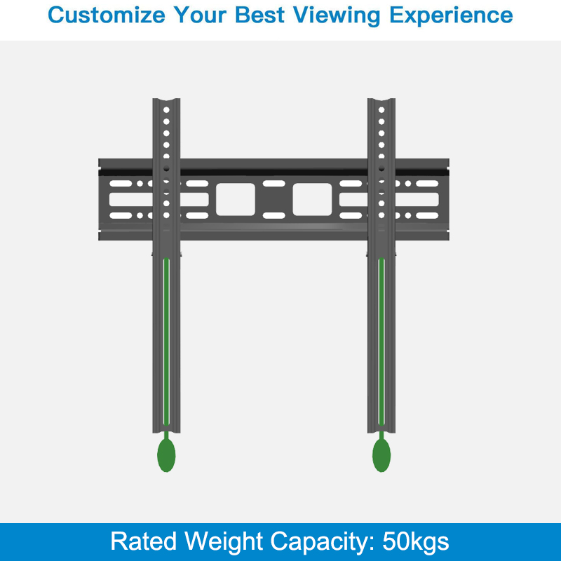 2019 New Design Hot Selling Cast Iron Fixed TV Mount Bracket With Locking System