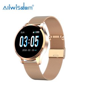Q9 Smart Watch Men Blood Pressure Heart Rate Monitor IP67 Waterproof Sport Bracelet Watch Smartwatch Women Fitness Tracker
