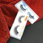 US Warehouse Money Refund Policy 3d silk eyelashes faux mink eyelash packaging box 3d private label eyelashes