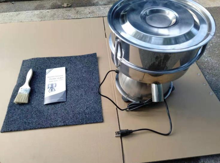 PS-350 Powder Flour Sieve Mesh Size Electric Vibrator Sieve