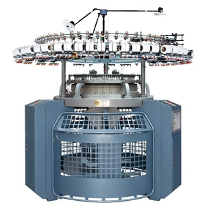 China Circular Knitting Three Thread Fleece Knitting Machine