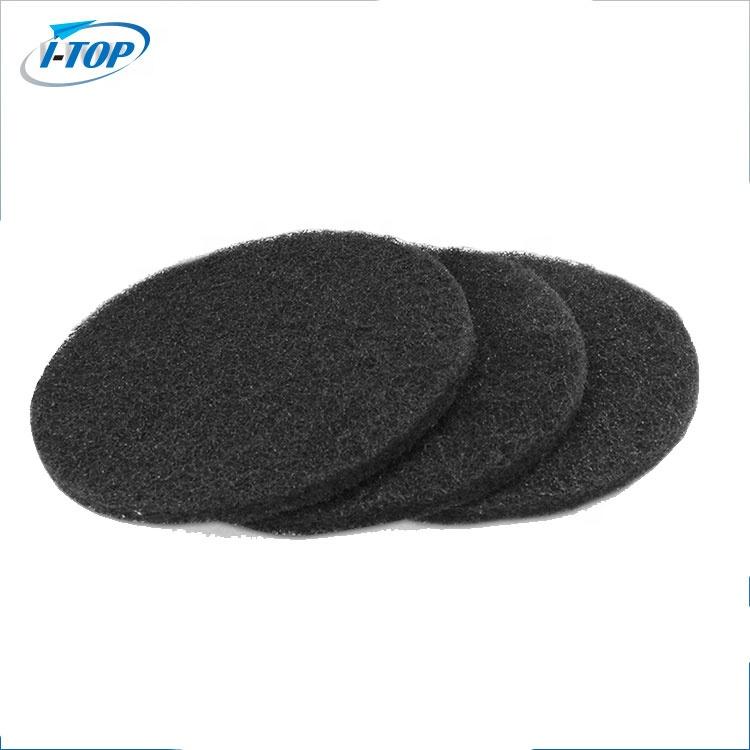 活性化堆肥ビン炭素炭フィルター交換のセット 3 ラウンド/正方形