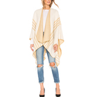 Ladies Party Wear Female Clothing Ponchos Capes Warm Cozy Thin Lightweight Jumper Knitwear 3/4 Sleeve Cardigan Womens Sweaters