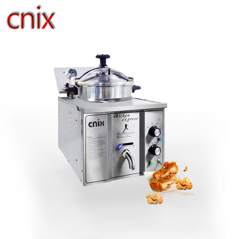 Electric Counter-Top Pressure Fryer for MDXZ-16 factory <strong>produce</strong> hot sale CNIX counter top pressure fryer