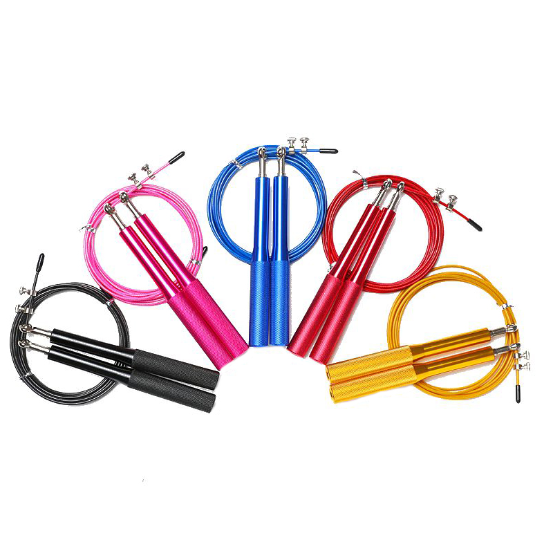 PVC Fitness Sports Aerobic Training High Speed Aluminium Jump Rope