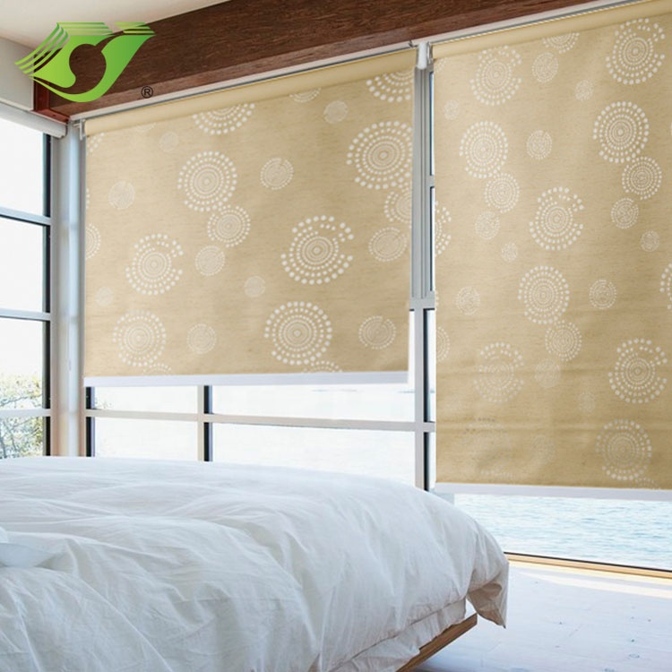New indoor blackout motorized day night modern window roller blinds by wifi control for hotel home office